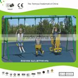 Sportsplay Modern Metal Swing Set & Triadic Swing with Galvanized Steel Pipe 14.8ftx5ftx7.2ft