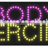 LED Sign for beauty Salon advertising sign for the beauty shops OEM is welcome