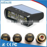 Solar power car tire pressure monitoring external tpms 433.92 mhz 2016 wireless tpms sensor