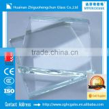 Glass factory in china 4~12mm low iron ultra clear float glass aquarium glass sheet fishbowl