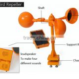 Solar panel Ultrasonic speaker Electronic bird repeller