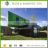 Prefabricated building shipping container houses/new model container villas with CE