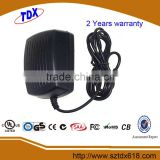 AC-DC Adaptor 24V 1A with CE/UL/CUL/FCC Approval
