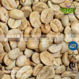 Green coffee bean Coffea Arabica Extract Powder Raw Materials Chlorogenic acid 98% Ratio 4:1 10:1 20:1 Pure Natural