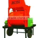 Zhirui hot selling JDC350 concrete mixer machine, electric portable cement concrete mixer