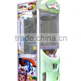 Hot sale key master game machine, push key win prize claw crane machine