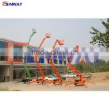 CE approved hydraulic towable cherry picker man lift for sale