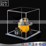 ShenZhen factory manufacture cartoon figurine display cases with action figure 1:18 model