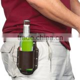 Beer holster, leather
