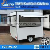 Manufacturer mobile Ice cream cart-food trailer-mobile food truck for sale