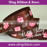 Printed Ribbon For Wedding Cake Decorations
