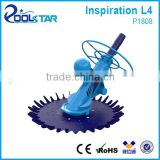 Propfessional Class Water Suction Pool Vacuum Cleaner with Swivel Body Never Cornered