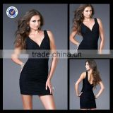 C0009 Celebrity sex bandage cocktail dress open low back tight fitted cocktail dress