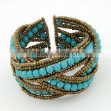 China Manufacturer 2014 Newest Fashion Bracelets Jewelry Charms,best friend turkish african bead bracelet