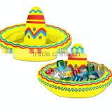 Inflatable Mexican Cinco de Mayo Fiesta Party Sombrero Hat Cooler