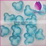 wholesale blue 16mm Bulk chunky acrylic faceted animal beads