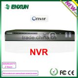 nvr 4 ch onvif CCTV NVR securiy system support DV line, Milestone, Luxriot nvr software ip video decoder