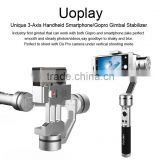 Uoplay free rolling gimbal stabilizer for IPHONE 6 Plus and Go pro 3 3+ 4