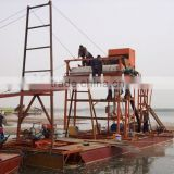 cutter suction sand dredger vessel