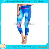 Women's Active Running Yoga Pants Tights Workout Fitness Leggings Capri