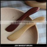 Wood Natural Cosmetic Spatula Scoop Makeup Facial Mask Stick for Mixing and Sampling