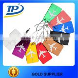 Aluminum alloy square baggage claim tags,thermal baggage tag hot sale