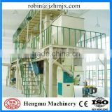 Producing easy stored smooth pellets hengmu high capacity organic ball fertilizer granulation machine