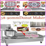 Donut Size 38-90mm Cheap Electric Automatic Industrial Mini Baked/Fry commercial donut maker machine Donut Maker 10 Models