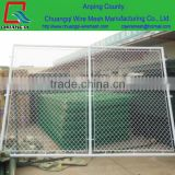 chain link fence ( Diamon wire mesh netting ) Galvanized / PVC coated , Knukled / Barbed