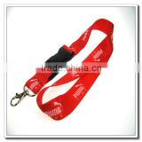 High Tenacity fashion rhinestone neck lanyard for compass luggage