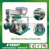 CE approved ring die wood pellet mill,wood pellet machine for making different size pellets