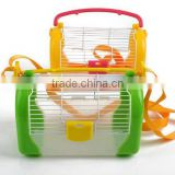 outdoor portable acrylic hamster cage hamster house pet cage with handle