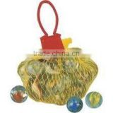 GLASS MARBLE with mash bag packing
