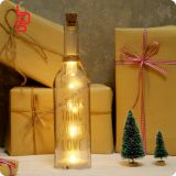 Sweet words magic words color bottle light shining pure glass decoration exciting bottle light for daily use