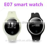 Made in China touch screen smart wristband E07 smart bracelet fitness wearable tracker bluetooth watch
