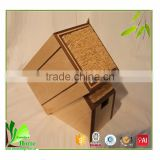 Customized high quality bamboo single knife holder