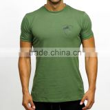 China factory rounded hem athletic apparel manufacturers long tail tall fitness t-shirts wholesale