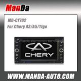 Manda 2 din car stereo for Chery A3/A5/Tigo in-dash head unit touch screen dvd factory navigation system