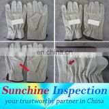 reliable inspection company/quality control inspector/ Gloves/Knitting/scarf/Leather/cloth/cotton/wool/apparel accessories/yiwu