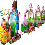 2014 newest type Bear Park amusement machine with14 seats merry go round