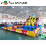Inflatable Water Park Floating Water Games Aqua Slide Product Inflatable Combo Water Park Equipment