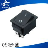 high quality 20a 125v 16a 250v ac kcd4 hy12 red black rocker switch t85