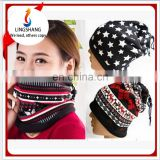 Winter fleece bandana brethable scarf outdoor sport warm hat