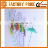 2017 Wholesale Straw Cocktail Umbrella For Party With Beautiful Design