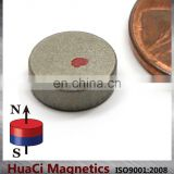 "SmCo Magnets Dia 3/8""X1/8"" Samarium Cobalt Magnets 572F Temperature"