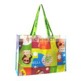 Fashion PP woven bag with lamination, PP woven promotion shopping bag