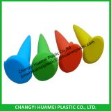 Colorful Plastic Cone Shape Beach Ashtray / Smokeless Ashtray