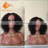 brazilian human hair afro kinky curly glueless full lace wig virgin hair lace wigs human hair lace front wig on alibaba