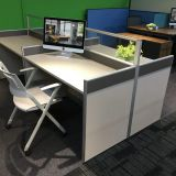 Modern Q3-partition workstation for 4 persons for office