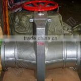 DN350 Cast Aluminum Pipe Clamp Valve or Pinch Valve